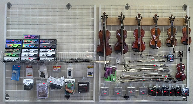 Violins from 1/16 to 4/4 and everything you need to learn and perform.
