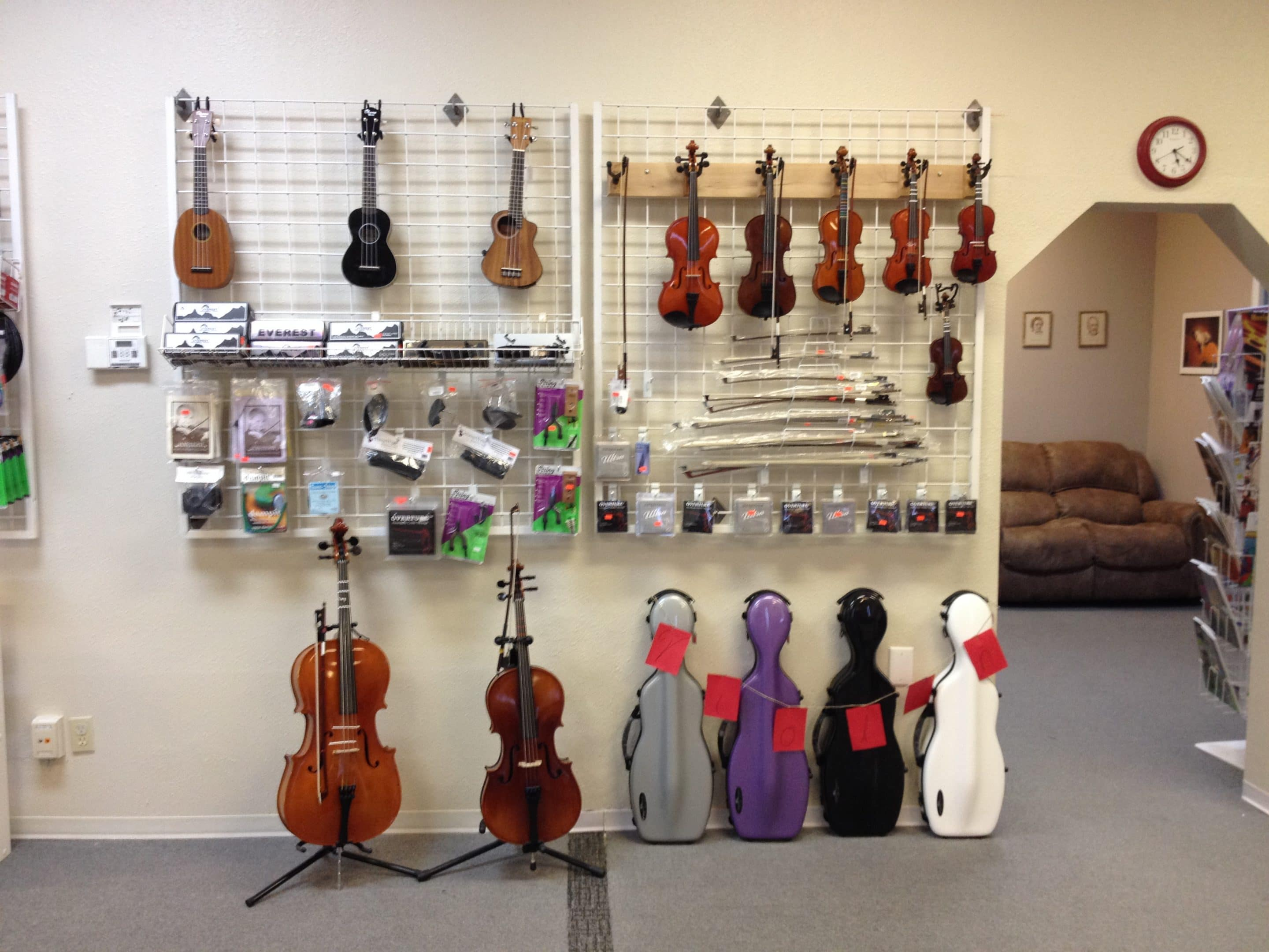 Quality Ukuleles available for sale.